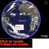 Map of Tristan de Cunha